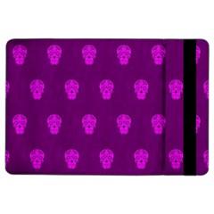 Skull Pattern Purple Ipad Air 2 Flip