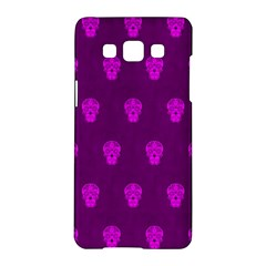Skull Pattern Purple Samsung Galaxy A5 Hardshell Case