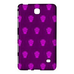Skull Pattern Purple Samsung Galaxy Tab 4 (8 ) Hardshell Case