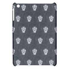 Skull Pattern Silver Apple iPad Mini Hardshell Case