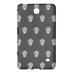 Skull Pattern Silver Samsung Galaxy Tab 4 (7 ) Hardshell Case