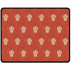 Skull Pattern Terra Fleece Blanket (medium)