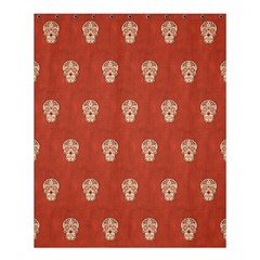 Skull Pattern Terra Shower Curtain 60  x 72  (Medium)