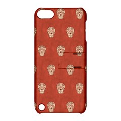 Skull Pattern Terra Apple iPod Touch 5 Hardshell Case with Stand
