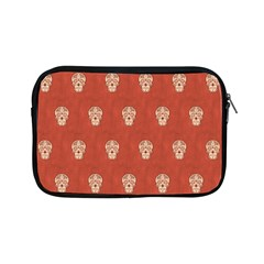 Skull Pattern Terra Apple iPad Mini Zipper Cases