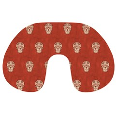 Skull Pattern Terra Travel Neck Pillows