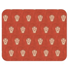 Skull Pattern Terra Double Sided Flano Blanket (Medium)