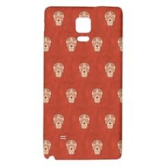 Skull Pattern Terra Galaxy Note 4 Back Case
