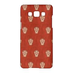 Skull Pattern Terra Samsung Galaxy A5 Hardshell Case