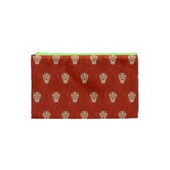 Skull Pattern Terra Cosmetic Bag (xs)