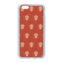 Skull Pattern Terra Apple Seamless iPhone 6 Case (Color)
