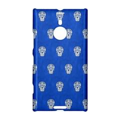 Skull Pattern Inky Blue Nokia Lumia 1520