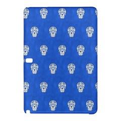 Skull Pattern Inky Blue Samsung Galaxy Tab Pro 12.2 Hardshell Case
