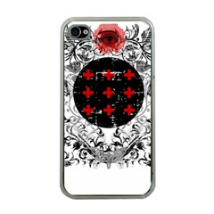 Occult theme Apple iPhone 4 Case (Clear)