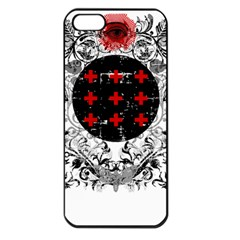Occult theme Apple iPhone 5 Seamless Case (Black)