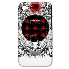Occult theme Apple iPhone 4/4S Hardshell Case (PC+Silicone)