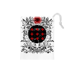 Occult theme Drawstring Pouches (Small)