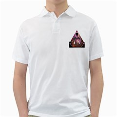 Deep Meditation #2 Golf Shirts