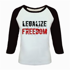 Legalize Freedom Kids Baseball Jerseys