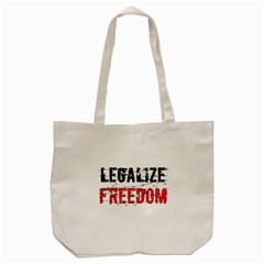 Legalize Freedom Tote Bag (cream)