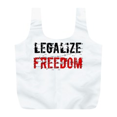 Legalize Freedom Full Print Recycle Bags (l)