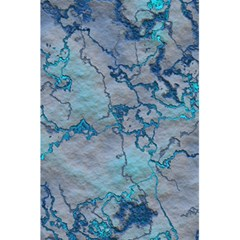 Marbled Lava Blue 5.5  x 8.5  Notebooks