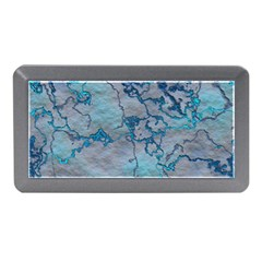 Marbled Lava Blue Memory Card Reader (Mini)