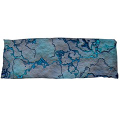 Marbled Lava Blue Body Pillow Cases Dakimakura (Two Sides)