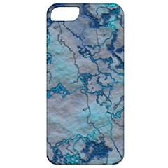 Marbled Lava Blue Apple iPhone 5 Classic Hardshell Case