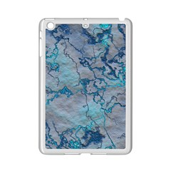 Marbled Lava Blue iPad Mini 2 Enamel Coated Cases