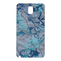 Marbled Lava Blue Samsung Galaxy Note 3 N9005 Hardshell Back Case