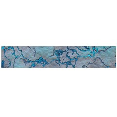 Marbled Lava Blue Flano Scarf (large)