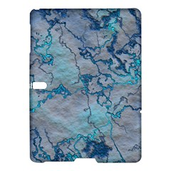 Marbled Lava Blue Samsung Galaxy Tab S (10.5 ) Hardshell Case