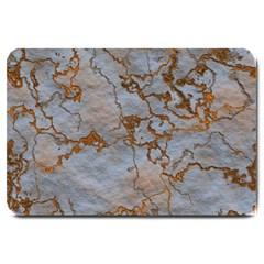 Marbled Lava Orange Large Doormat