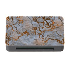 Marbled Lava Orange Memory Card Reader with CF