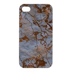 Marbled Lava Orange Apple iPhone 4/4S Hardshell Case