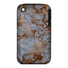 Marbled Lava Orange Apple iPhone 3G/3GS Hardshell Case (PC+Silicone)