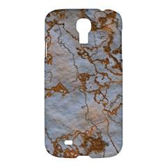 Marbled Lava Orange Samsung Galaxy S4 I9500/I9505 Hardshell Case