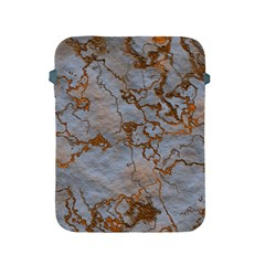 Marbled Lava Orange Apple iPad 2/3/4 Protective Soft Cases