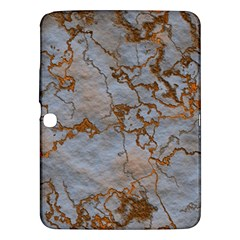 Marbled Lava Orange Samsung Galaxy Tab 3 (10.1 ) P5200 Hardshell Case