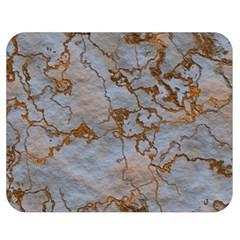 Marbled Lava Orange Double Sided Flano Blanket (medium)