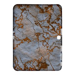 Marbled Lava Orange Samsung Galaxy Tab 4 (10 1 ) Hardshell Case