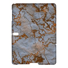Marbled Lava Orange Samsung Galaxy Tab S (10.5 ) Hardshell Case