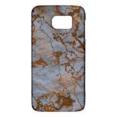 Marbled Lava Orange Galaxy S6