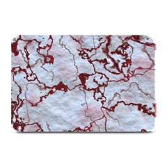 Marbled Lava Red Plate Mats