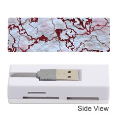 Marbled Lava Red Memory Card Reader (Stick)