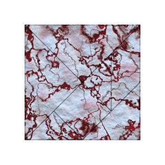 Marbled Lava Red Acrylic Tangram Puzzle (4  x 4 )