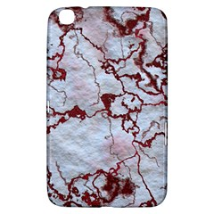 Marbled Lava Red Samsung Galaxy Tab 3 (8 ) T3100 Hardshell Case
