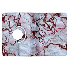 Marbled Lava Red Kindle Fire HDX Flip 360 Case