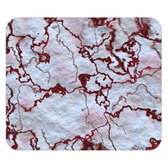 Marbled Lava Red Double Sided Flano Blanket (Small)